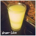 Ingefærjuice