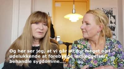 Bente Klarlund er gæst i Sundhedsvisioner