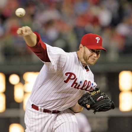 Phillies pitcher Roy Halladay, a former two-time CY young winner, has been on the decline since 2011 due to age and injuries. He currently has the second higher ERA in the majors at 8.65. Photo courtesy of MCT
