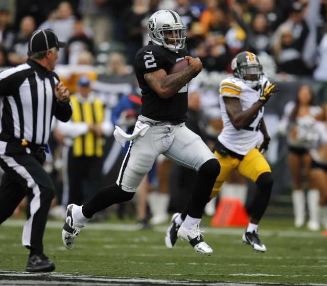Raiders vs. Steelers