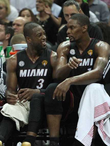 Chris Bosh and Dwayne Wade are enough fire power to capture headlines but they will need to outlast young competition in the Southeast Division. Photo courtesy of News Tribune Services.