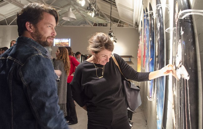 Sage Vaughn Rob Machado Exhibit