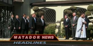Group of men stand on stage from Matador News Headlines