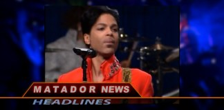 Prince's picture shown on Matador News
