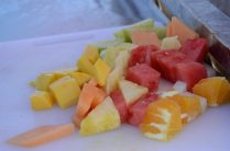 fruit tray pictured