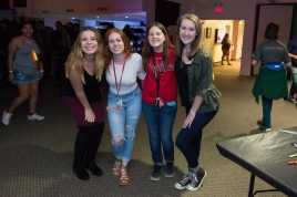 4 freshmen pictured at matador nights