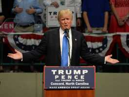 Trump speaks at campaign rally
