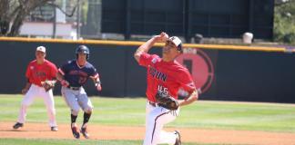 csun pitcher prepares to throw the ball