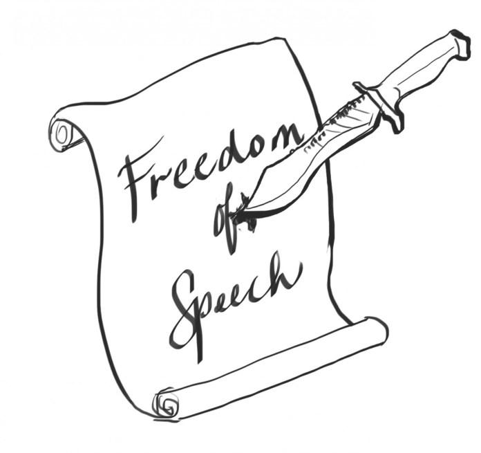Freedom of Speech illustration