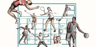 sports calendar logo