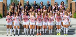 csun womens soccer team pictured