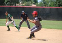 CSUN womens softball player running in the infield