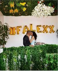 Alexx Ekubo Announces Engagement To Girlfriend, Fancy Acholonu In America -  Entertainment News and Jobs Portal