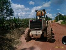 Konstruksi jalan Putussibau-Badau
