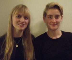 Cæcilie Crawley Larsen og Carla Ragnhild Kruse