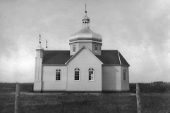 Sundown Ukrainian Orthodox Church - South View (1940s)