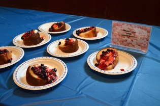 A sample of the delicious desserts