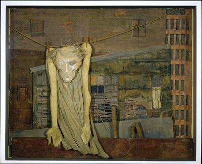 Christ on a Clothesline - circa 1955-59