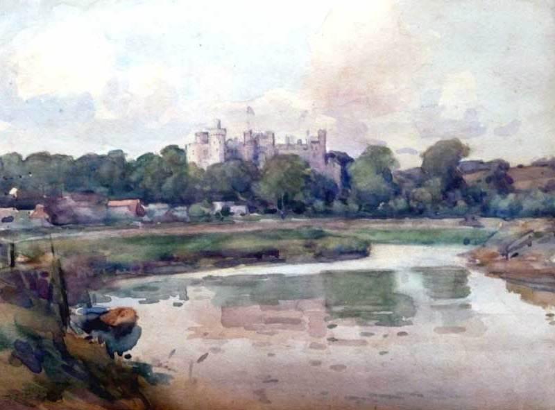 Arundel Castle, JC Wallis
