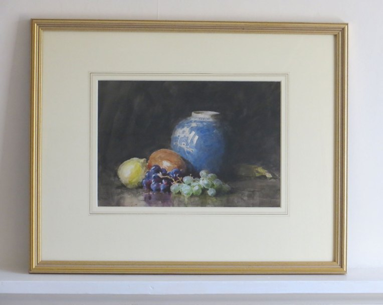 Watercolour Still Life by Gerald Ackermann