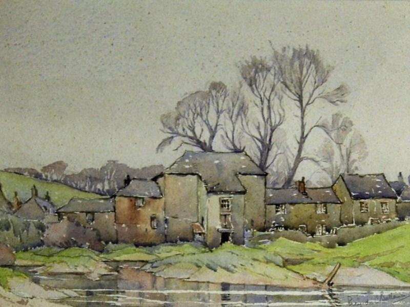 Percy des Carrieres Ballance, Cornish landscape painting