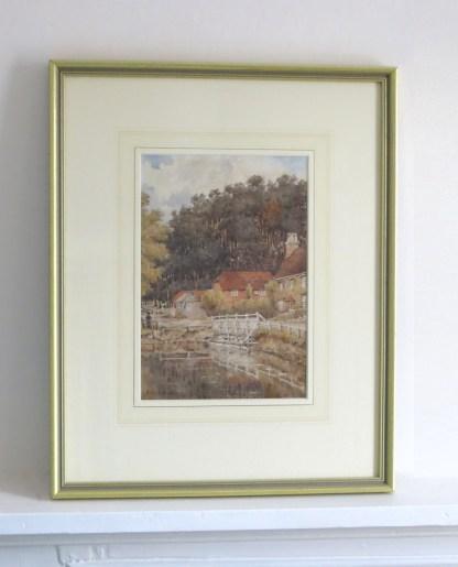 Rural Cottage Watercolour