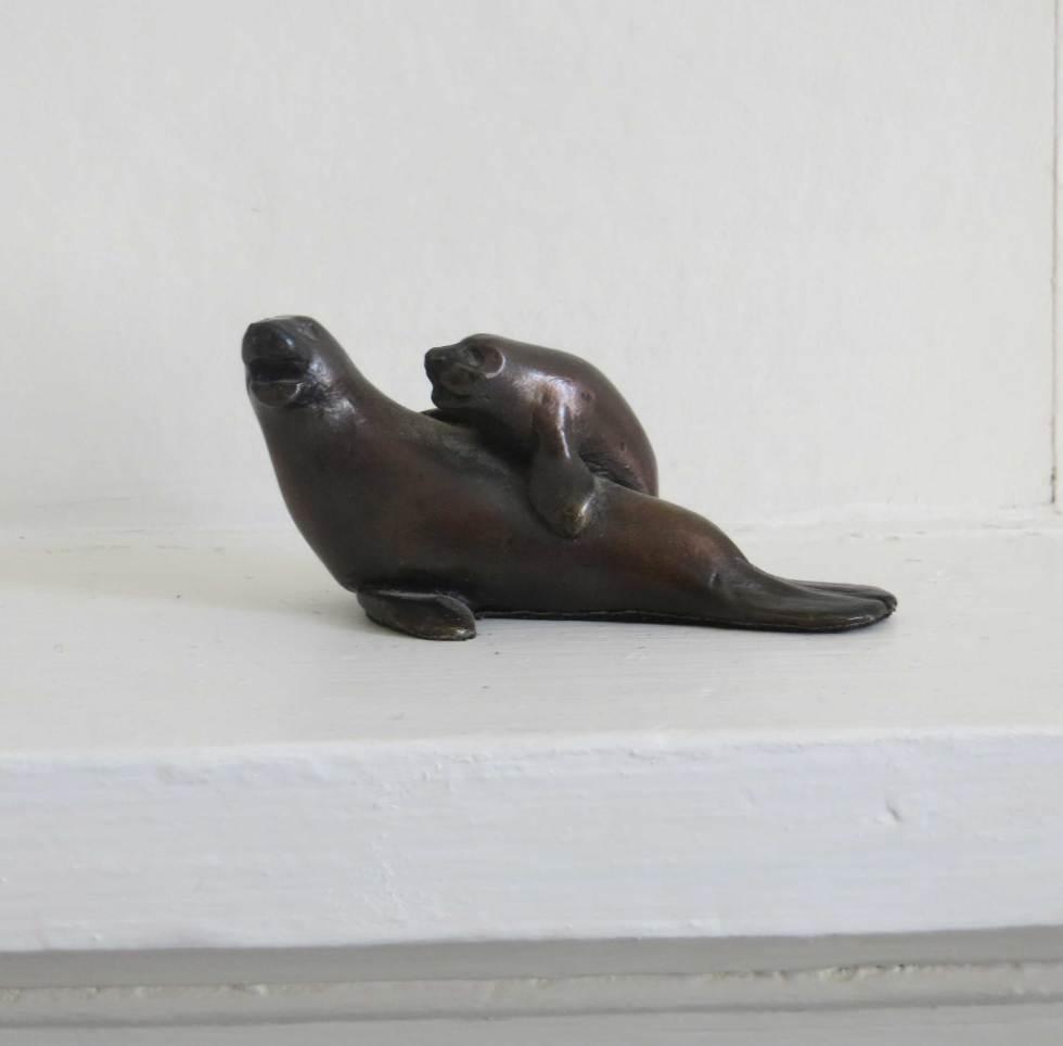 Seal and Calf Bronze