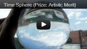 Time Sphere (Prize: Artistic Merit)