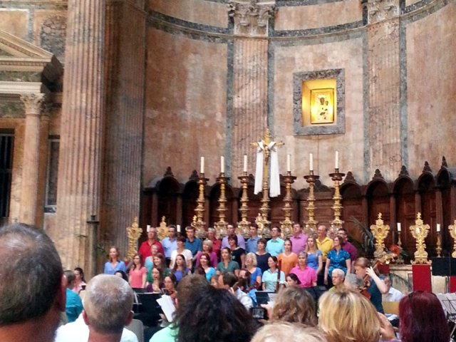 Rome-Pantheon-Choir