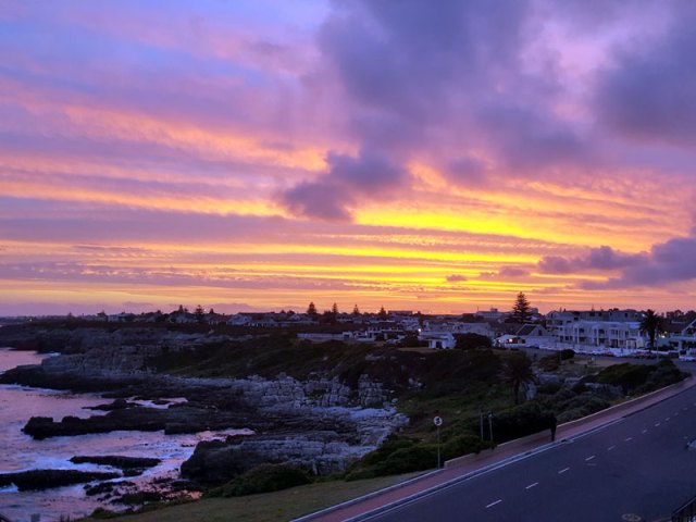 hermanus-sunset