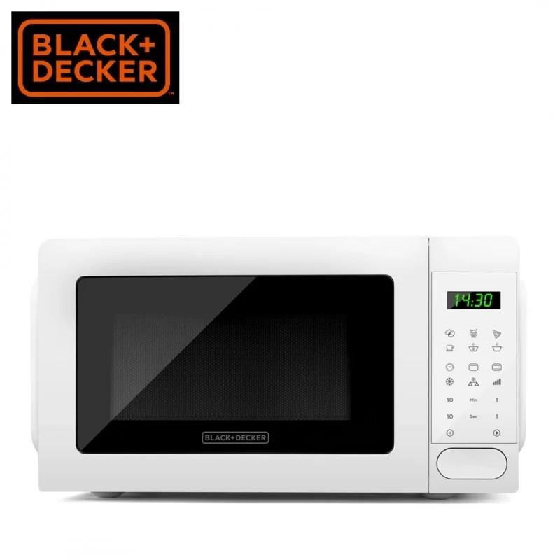 microwave oven black decker bxmz701e home appliances