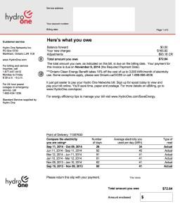 Hydro net metering