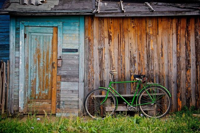 Shed Bicycle Bike Old Wooden Shack  - Free-Photos / Pixabay