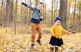 R Kid Fall Portraits
