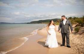 Samuel + Katherine Suttons Bay Wedding