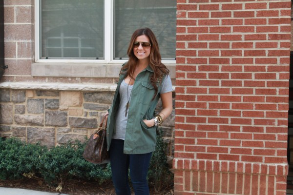 what to wear with a utility cargo vest