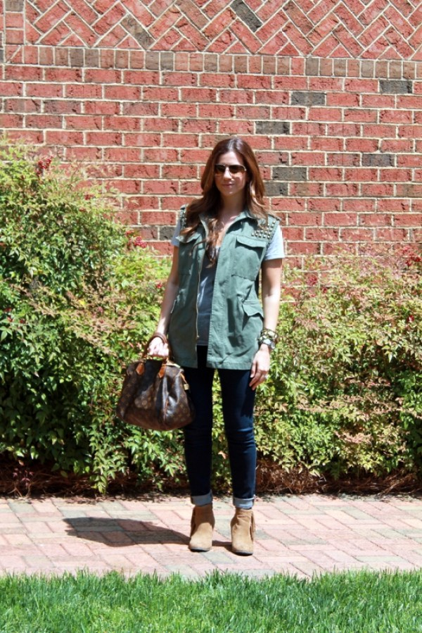 utility vest military chic trend