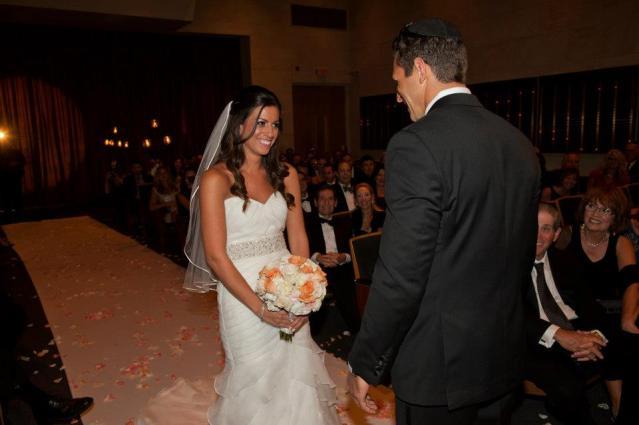 Temple Solel Wedding Hollywood Florida