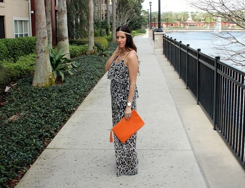 Leopard Maxi Dress, Maternity Style