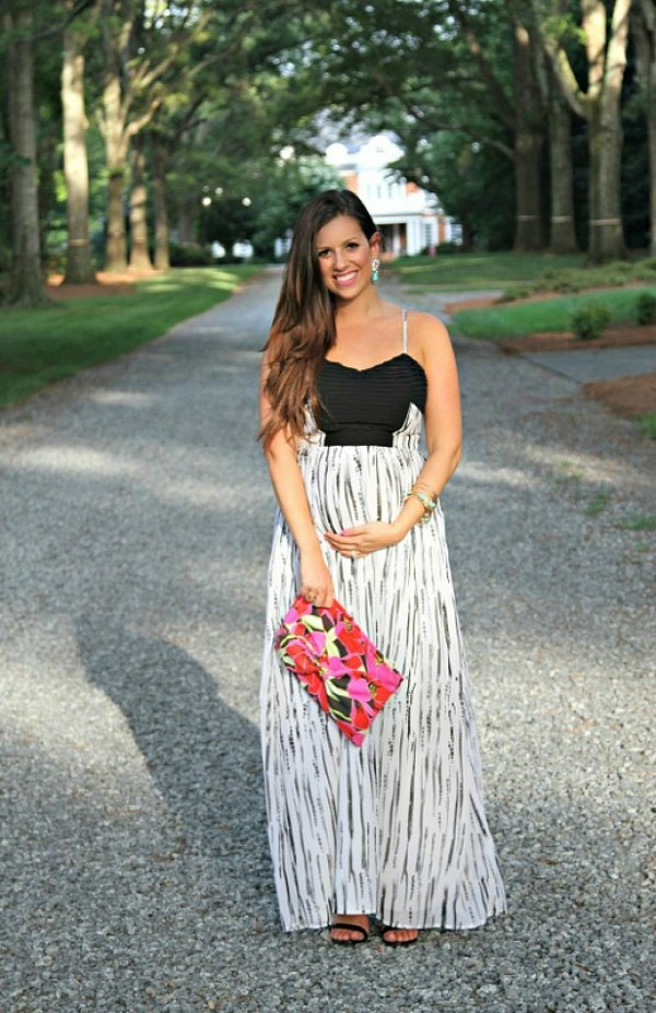Black and White Maxi