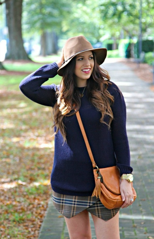 Sweater and Skirt for Fall
