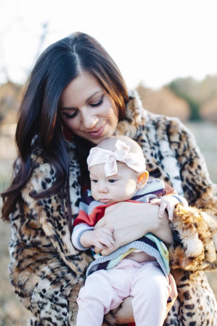 Family Photoshoot for Holidays, Jaime and Harley Cittadino