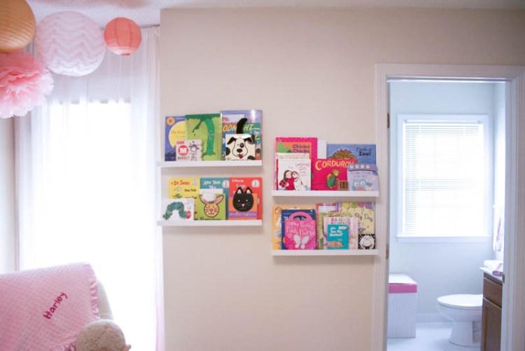Book Display in Nursery