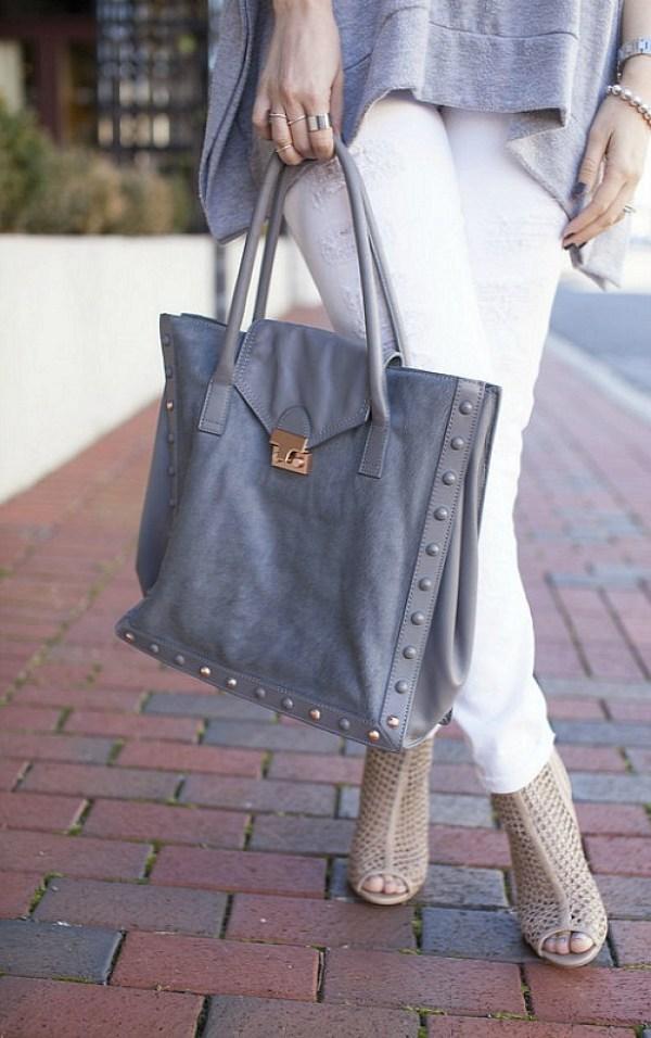 Grey Loeffler Randall bag