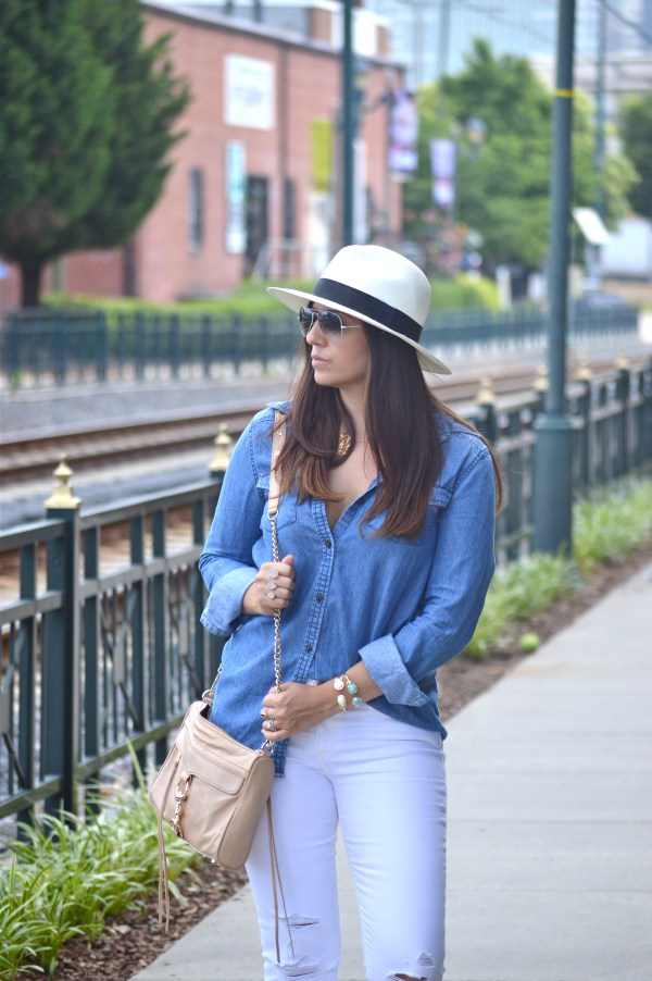 What to wear with a Panama hat