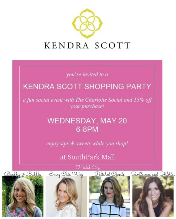 Kendra Scott SouthPark mall
