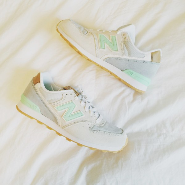 Mint New Balance Sneakers