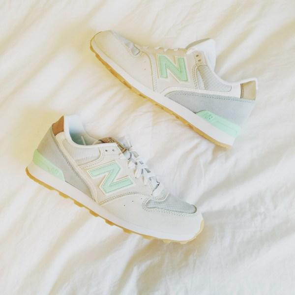Mint New Balance Sneakers