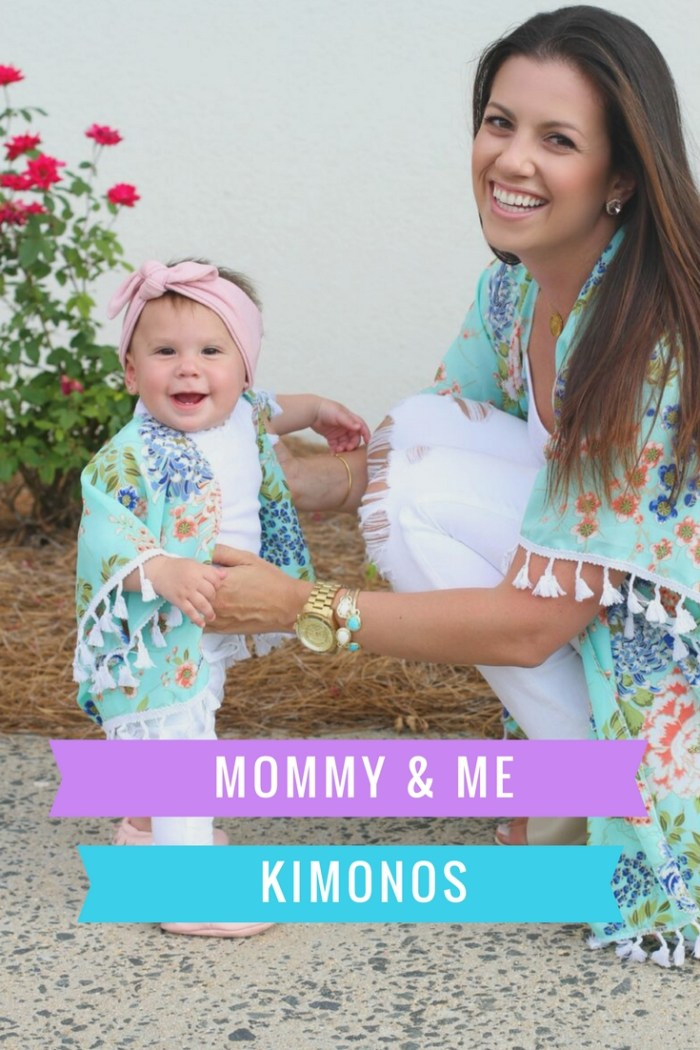 Mommy & Me Kimonos, Sunflowers and Stilettos mommy blog