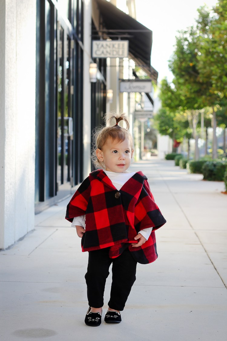 baby girl holiday outfit inspo, old navy buffalo check